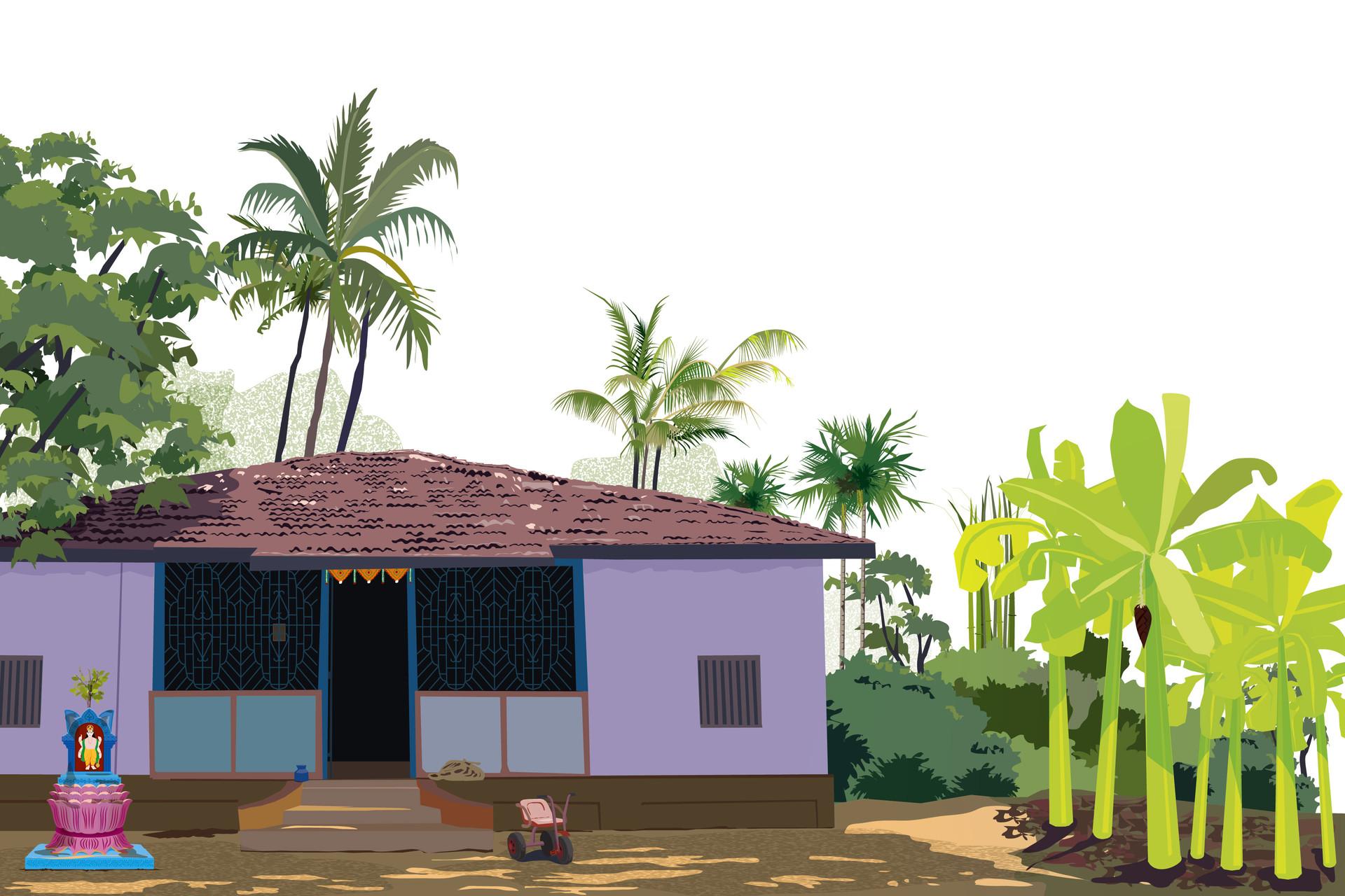 Rajesh r sawant vadkol konkan house 01