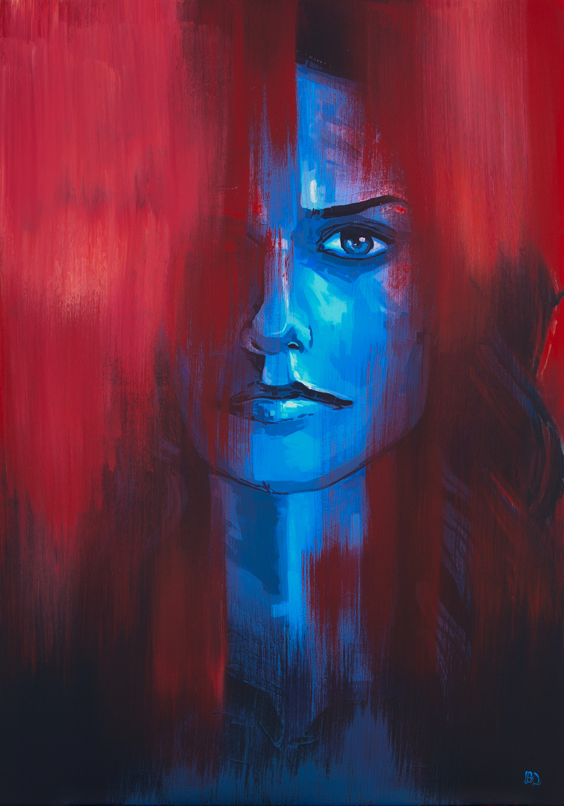 Daydream, Eyes Were Young Acrylic on canvas (70 x 100cm)