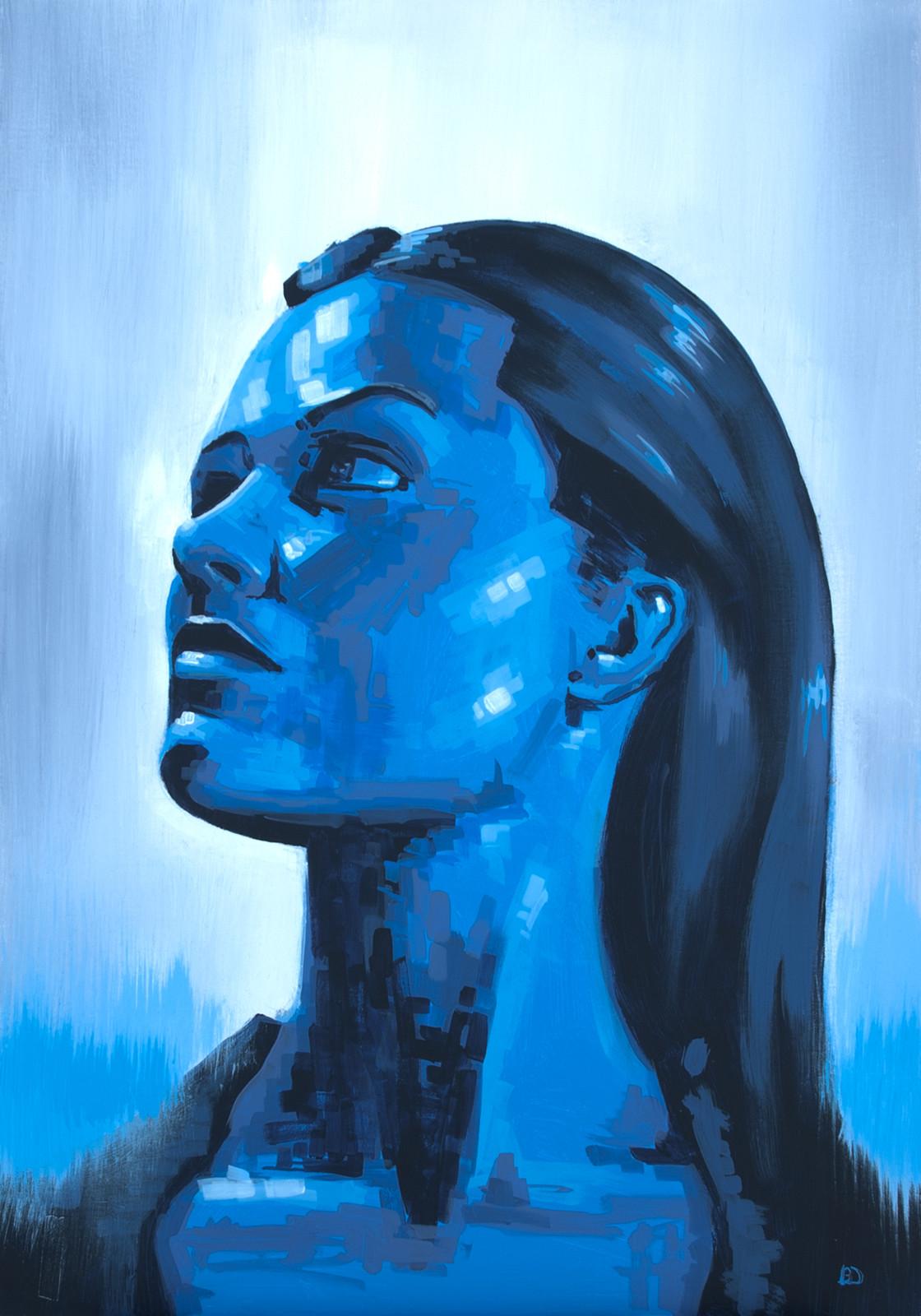 Daydream, The Depths Acrylic on canvas (70 x 100cm)