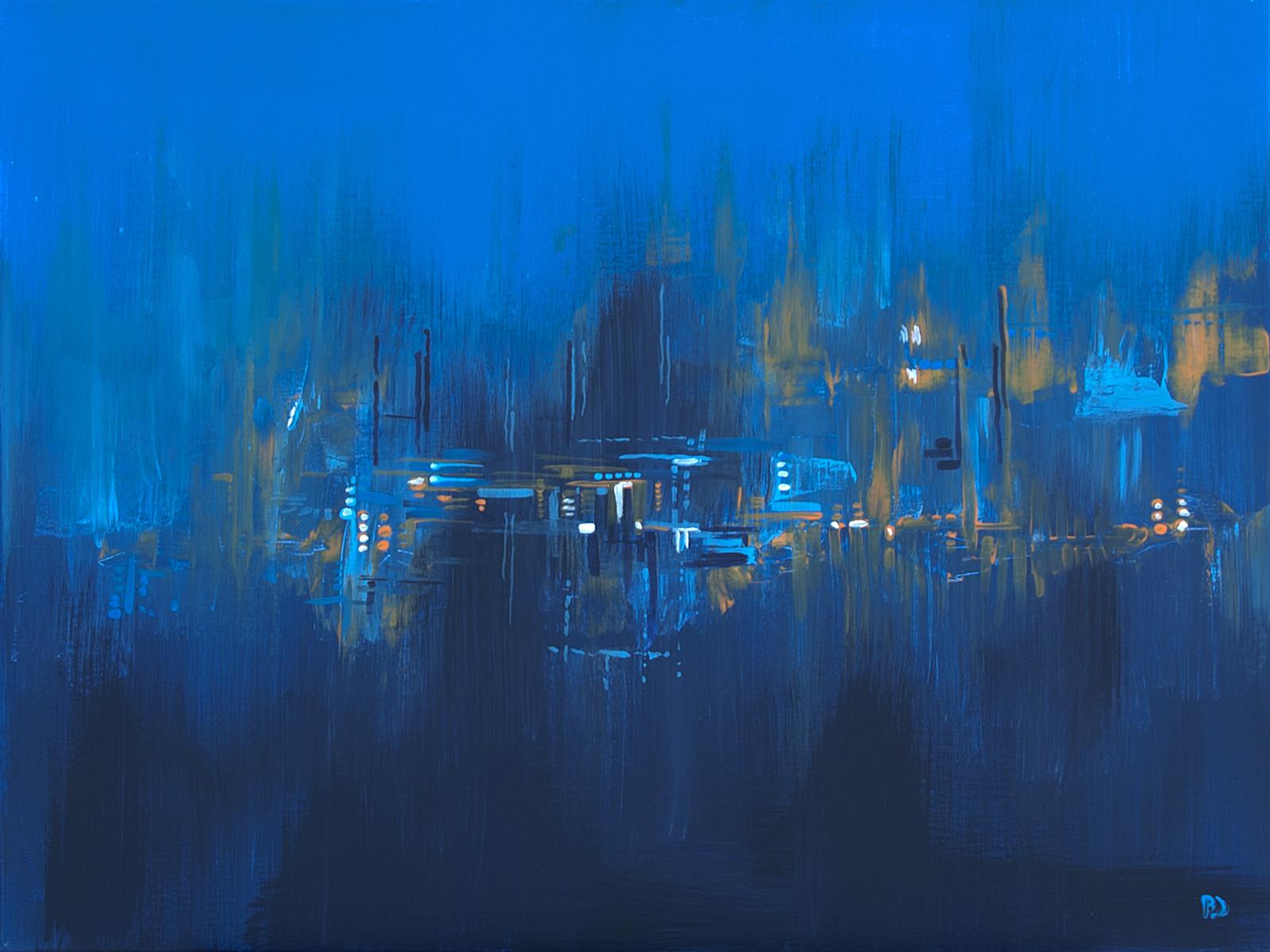 Dream, 4.00 AM Acrylic on canvas (80 x 60cm)