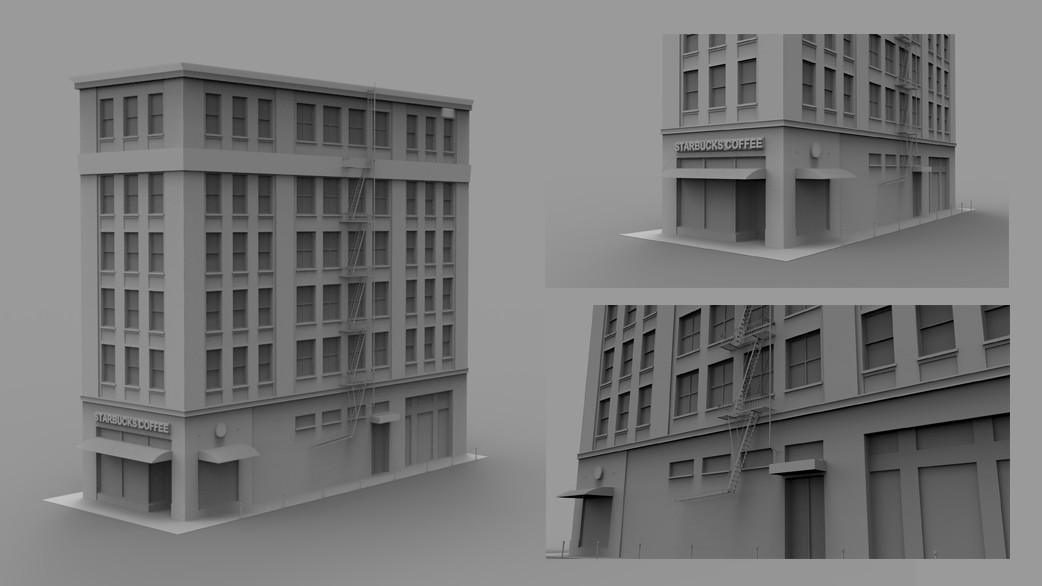 3D Environment - Building