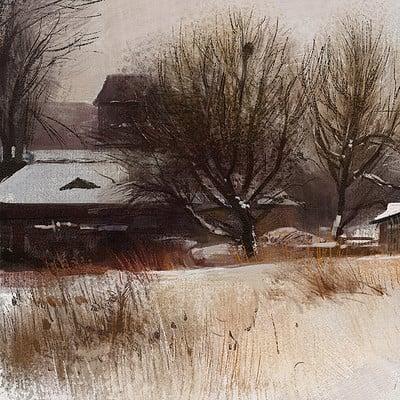Tymoteusz chliszcz landscape winter2 by chliszcz