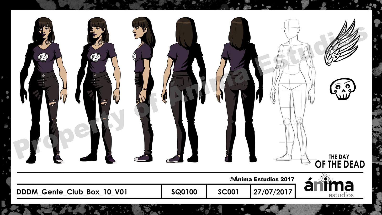 Extra Character Turnaround