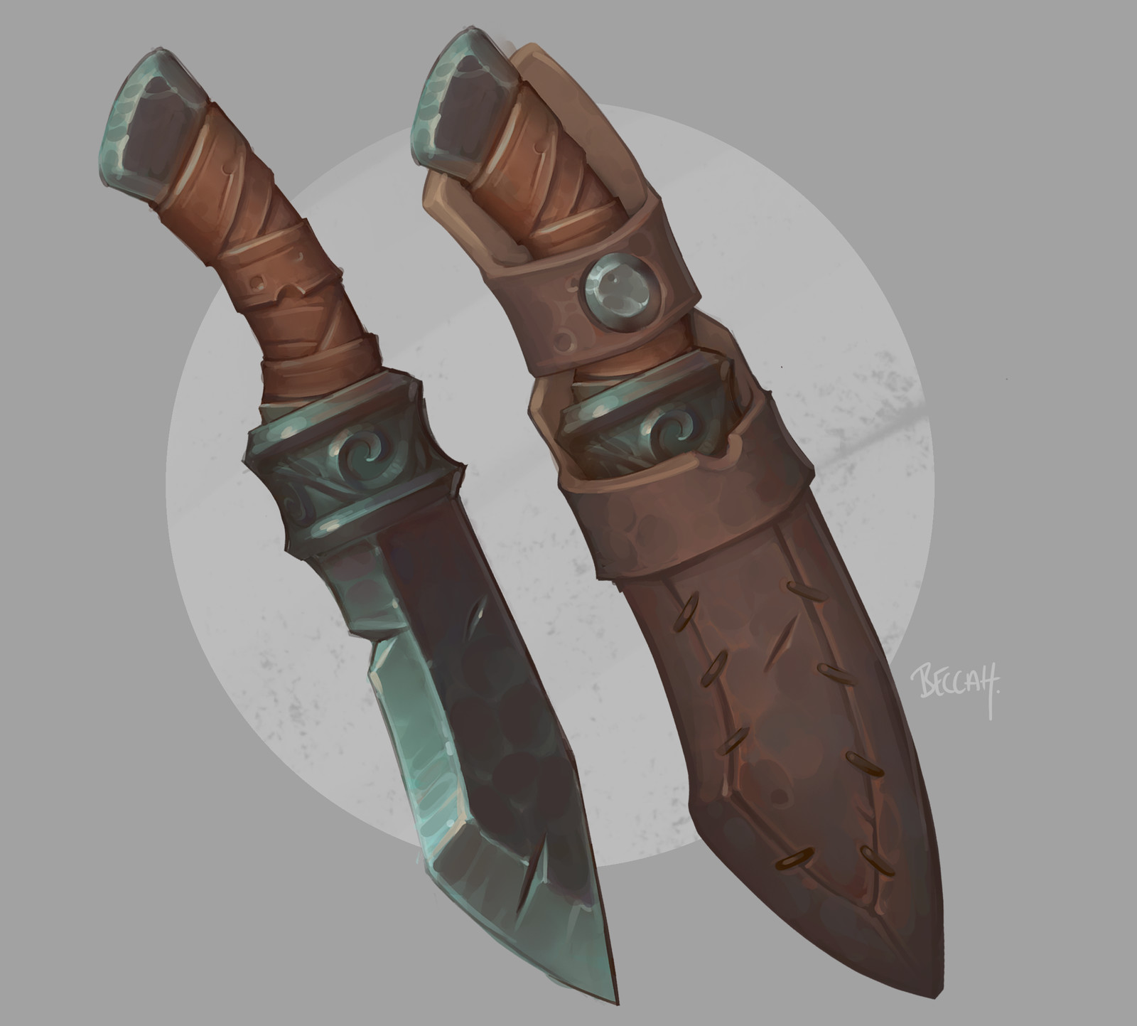 Magnus's Knife with Process