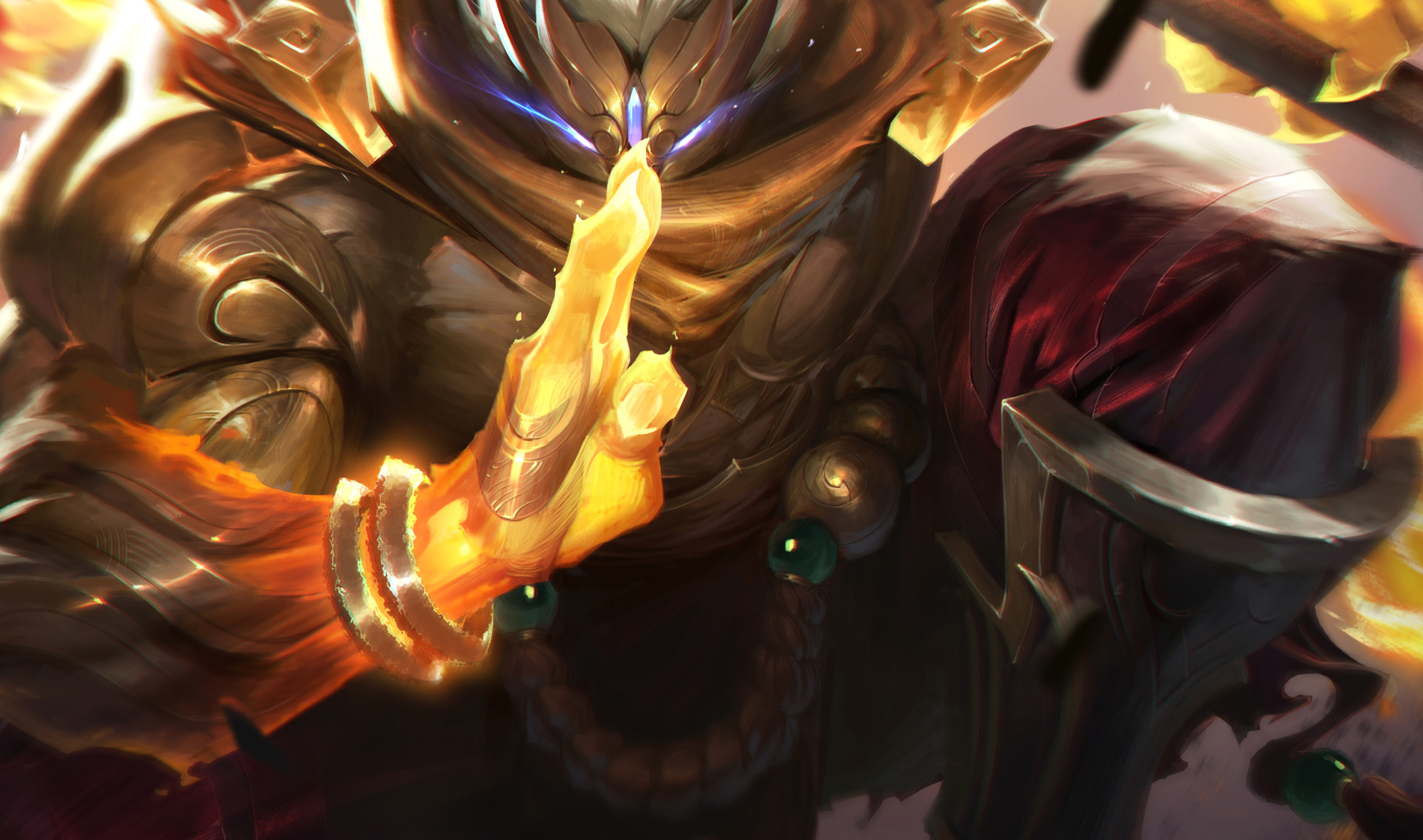 Artstation God Staff Jax League Of Legends Jojo So
