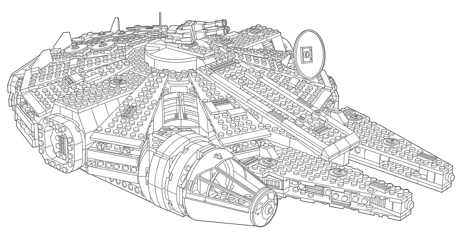 H C Tech Ill Lego Falcon 4 5 7 10 12 19