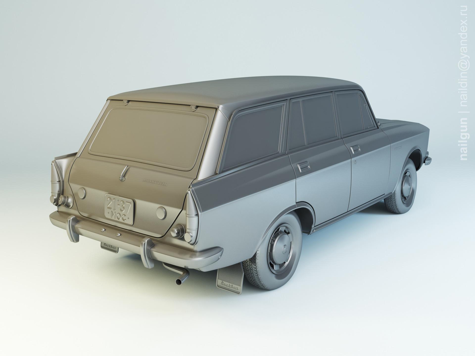 Nail khusnutdinov al 133 005 azlk 2137 moskvich modelling 1