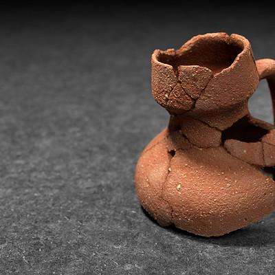 Carlos carpetudo ceramica montemorense render