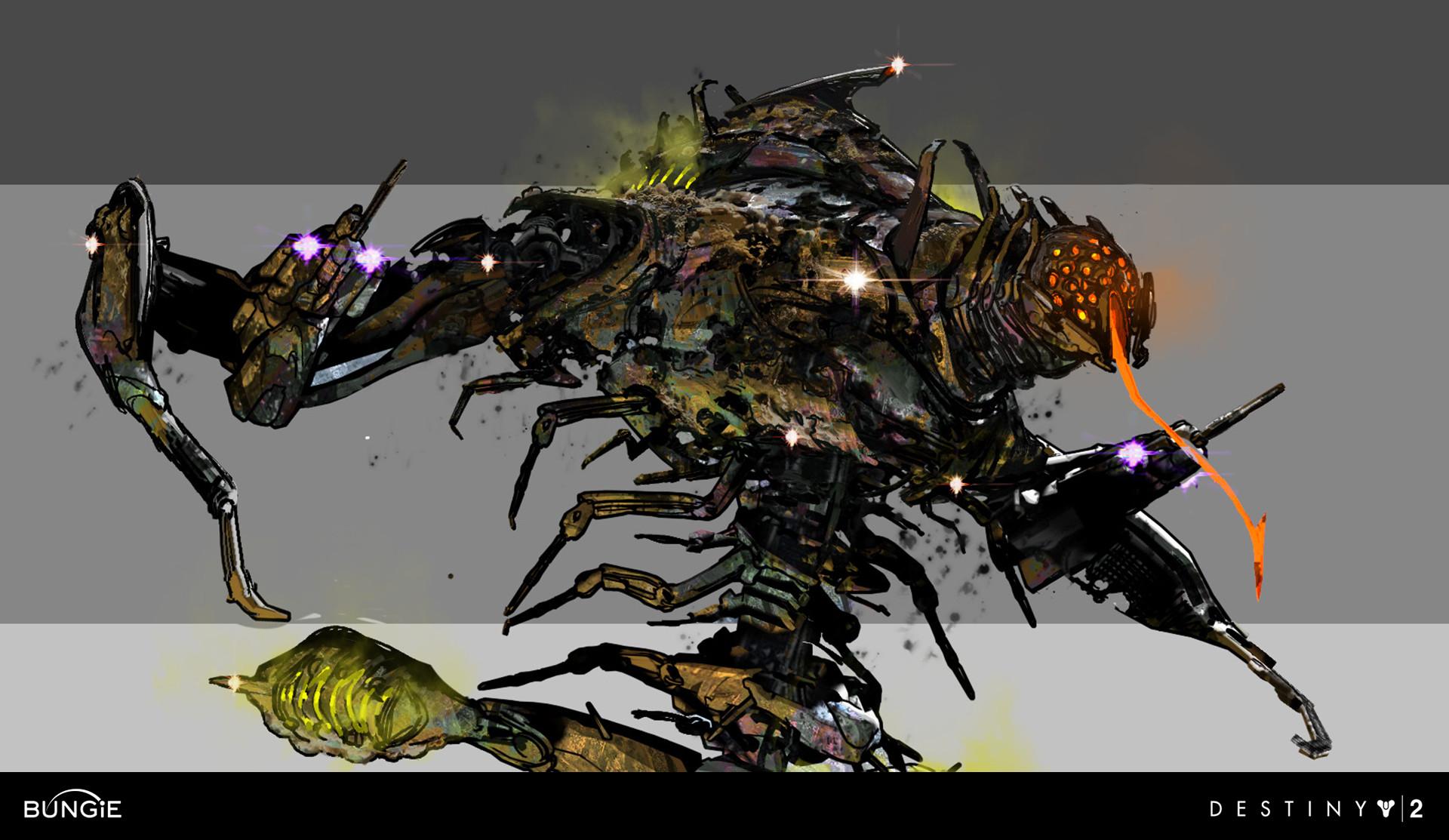 Destiny 2 Concept Art Osiris