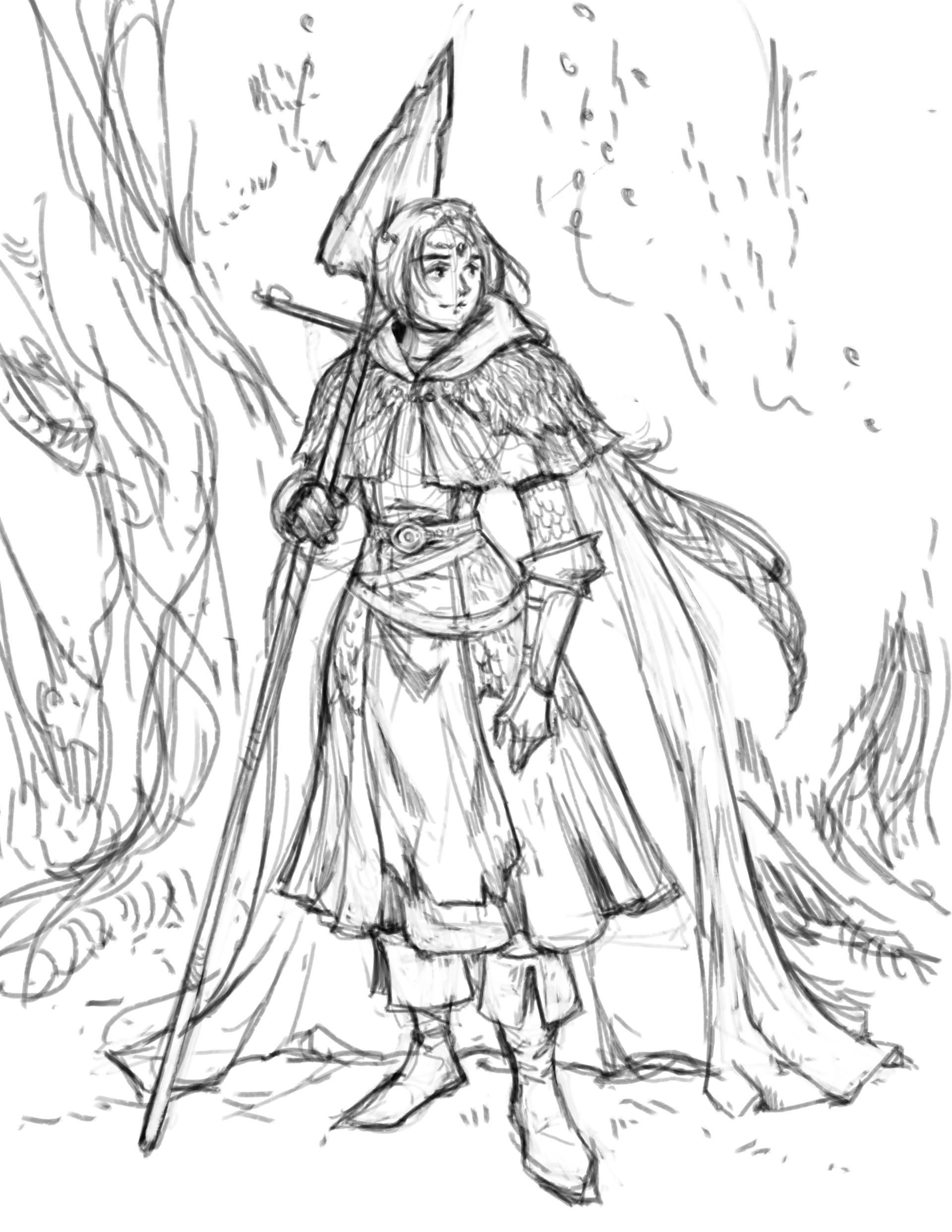 Stef tastan girl knight sktchy
