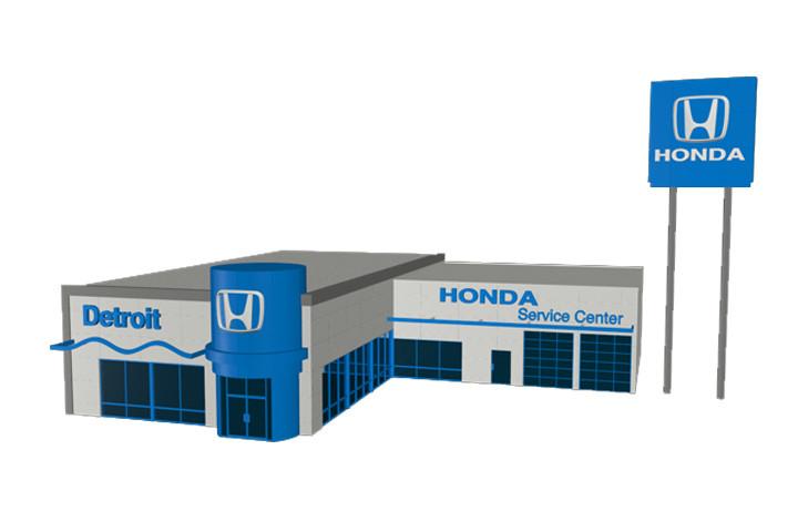 Detroit Honda Dealers Michigan Branding. Robert Glosser Honda 001