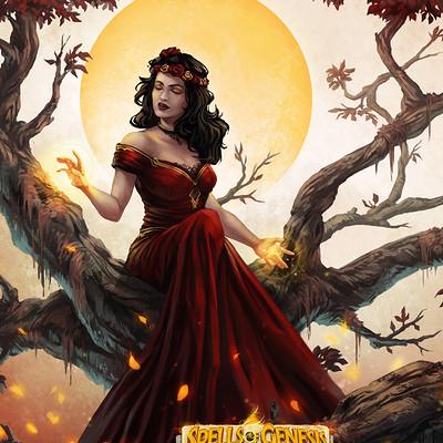 Laura bevon sog redwoman by laurabevon