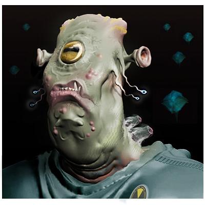 Gareth sleightholme alien portrait