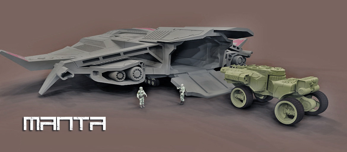 MANTA SUPER HEAVY TRANSPORTER