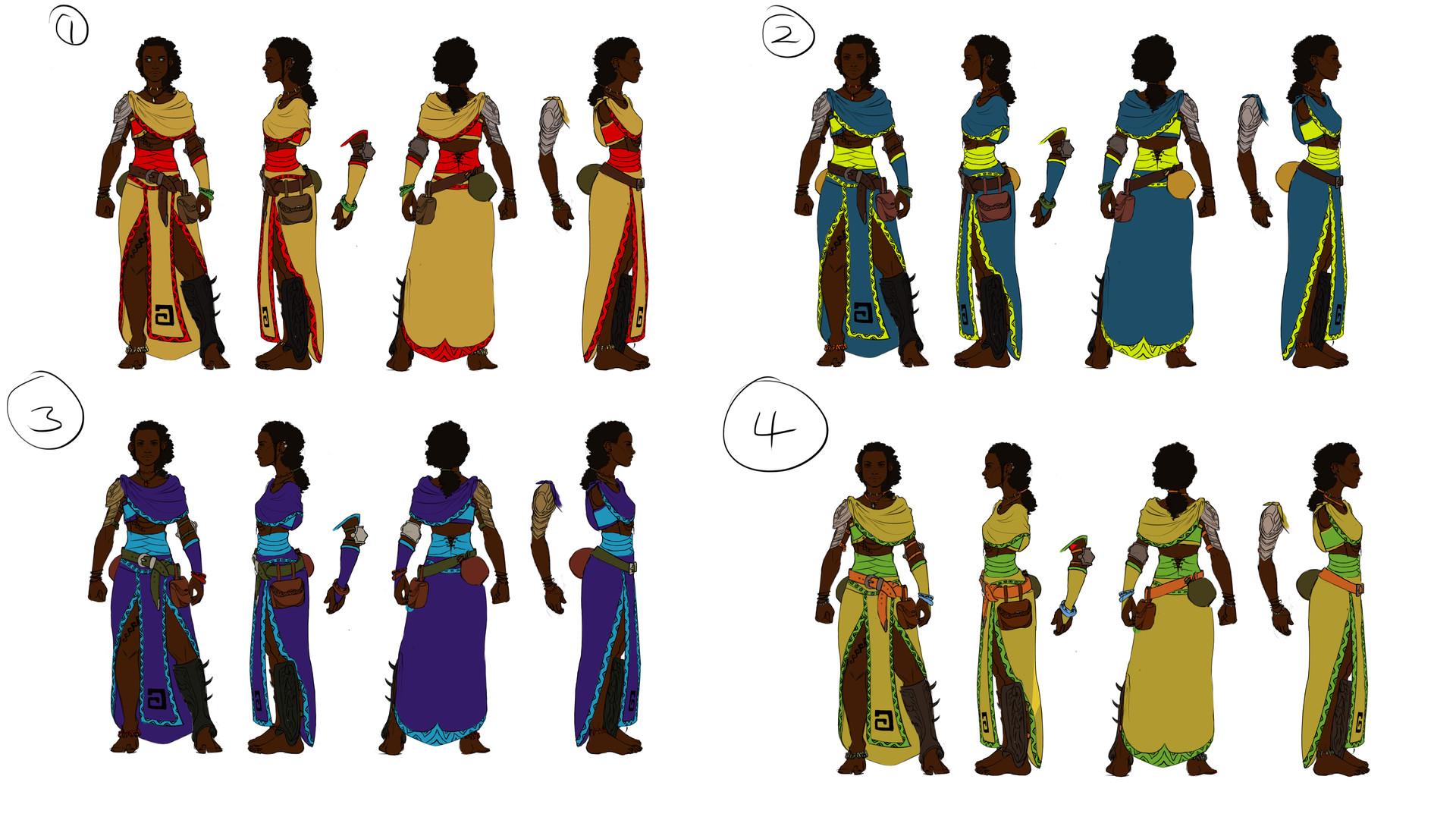 Elizabeth ware bamako3 colors