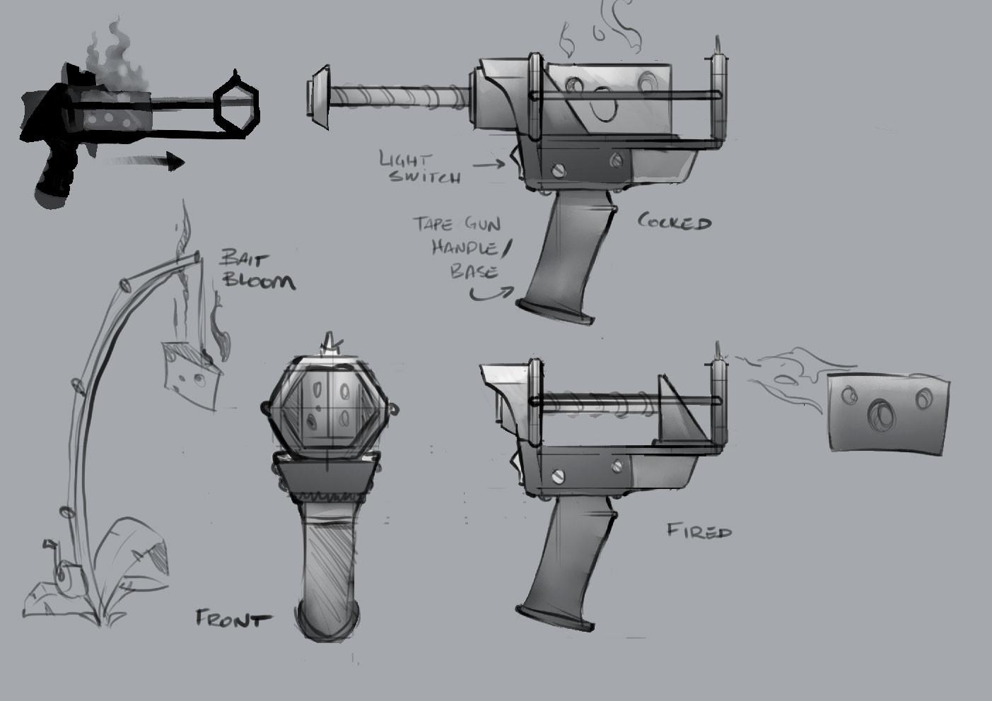 Bait Gun - Weapon/Prop Concept