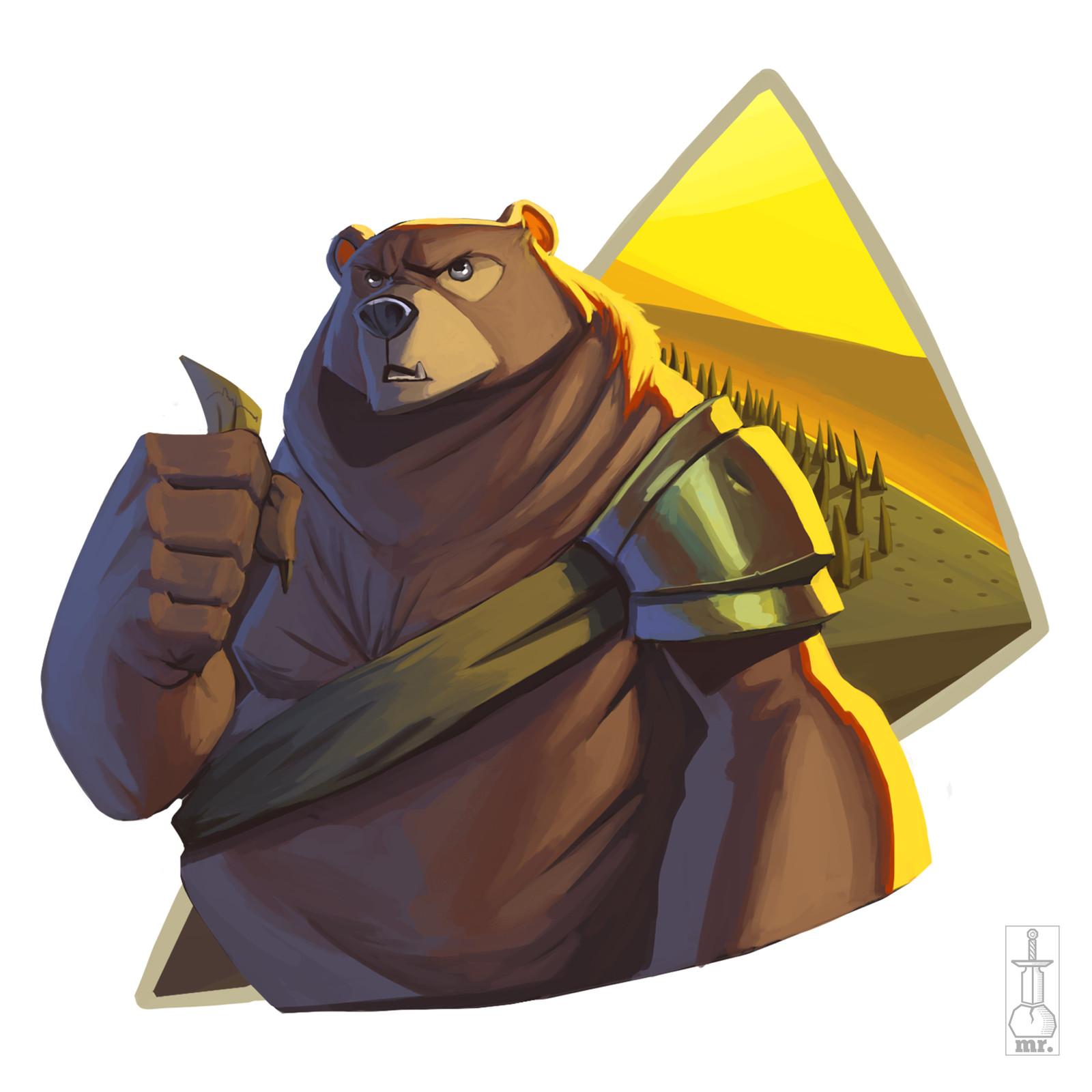 Explorer Bear - Sticker