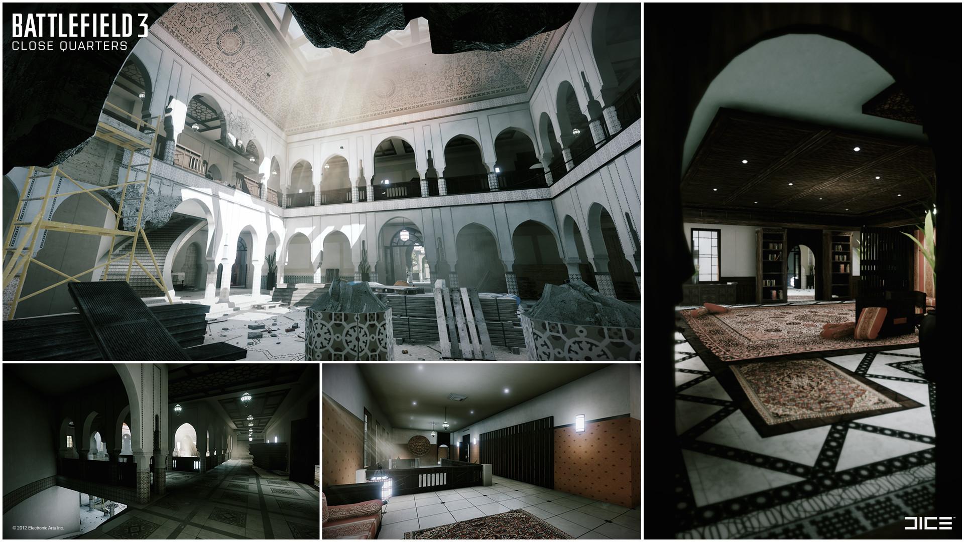 Donya Fortress - Interior
