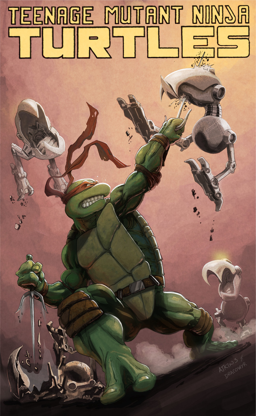 TMNT Raphael vs Mousers Cover