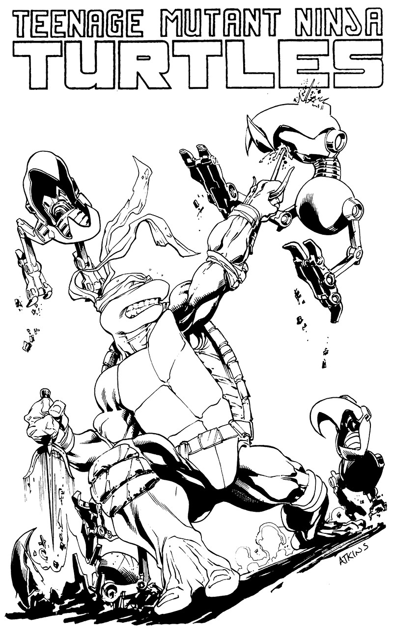 Orignal Pencils and Inks by Robert Atkins