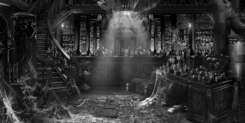 chris caldow alchemy lab delapidated