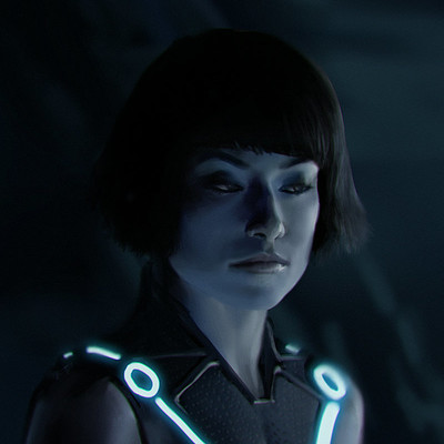Chris bjors olivia wilde from tron by chrisbjors d5t65by
