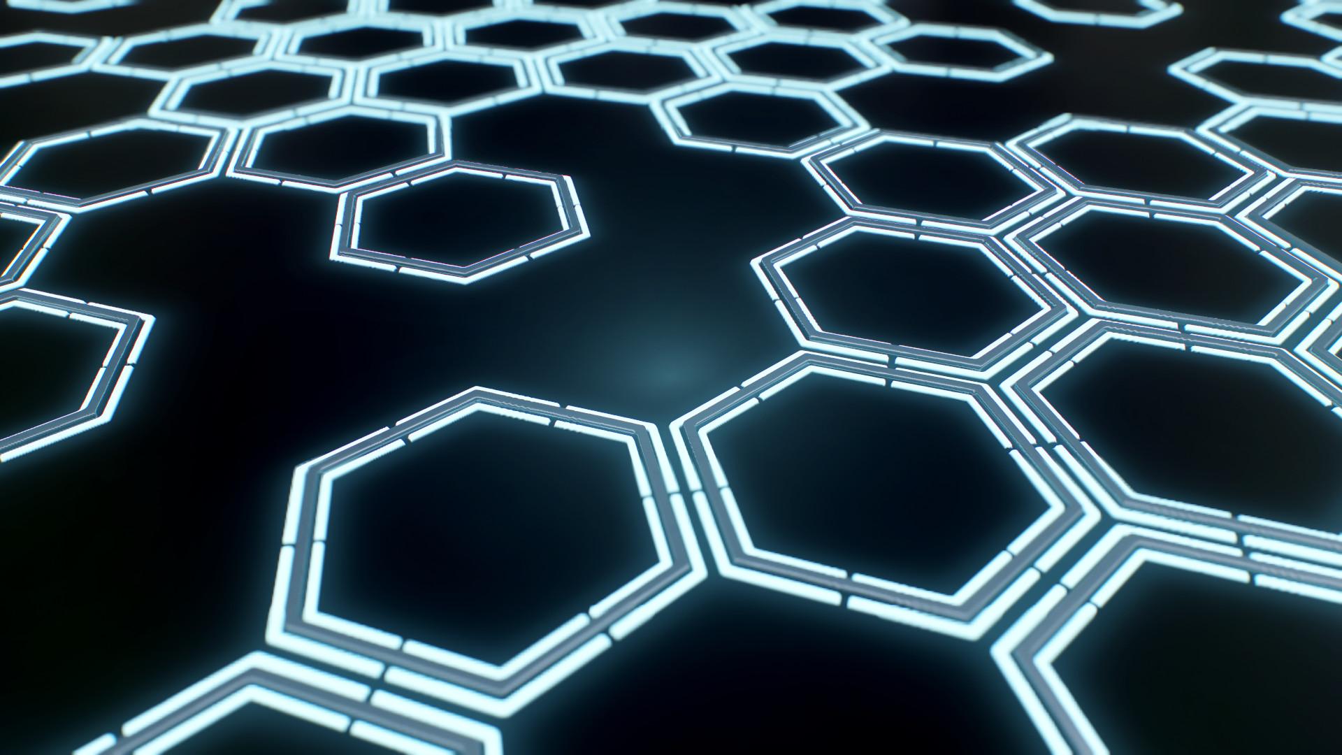 tutorial hexagonal light tiles in substance designer