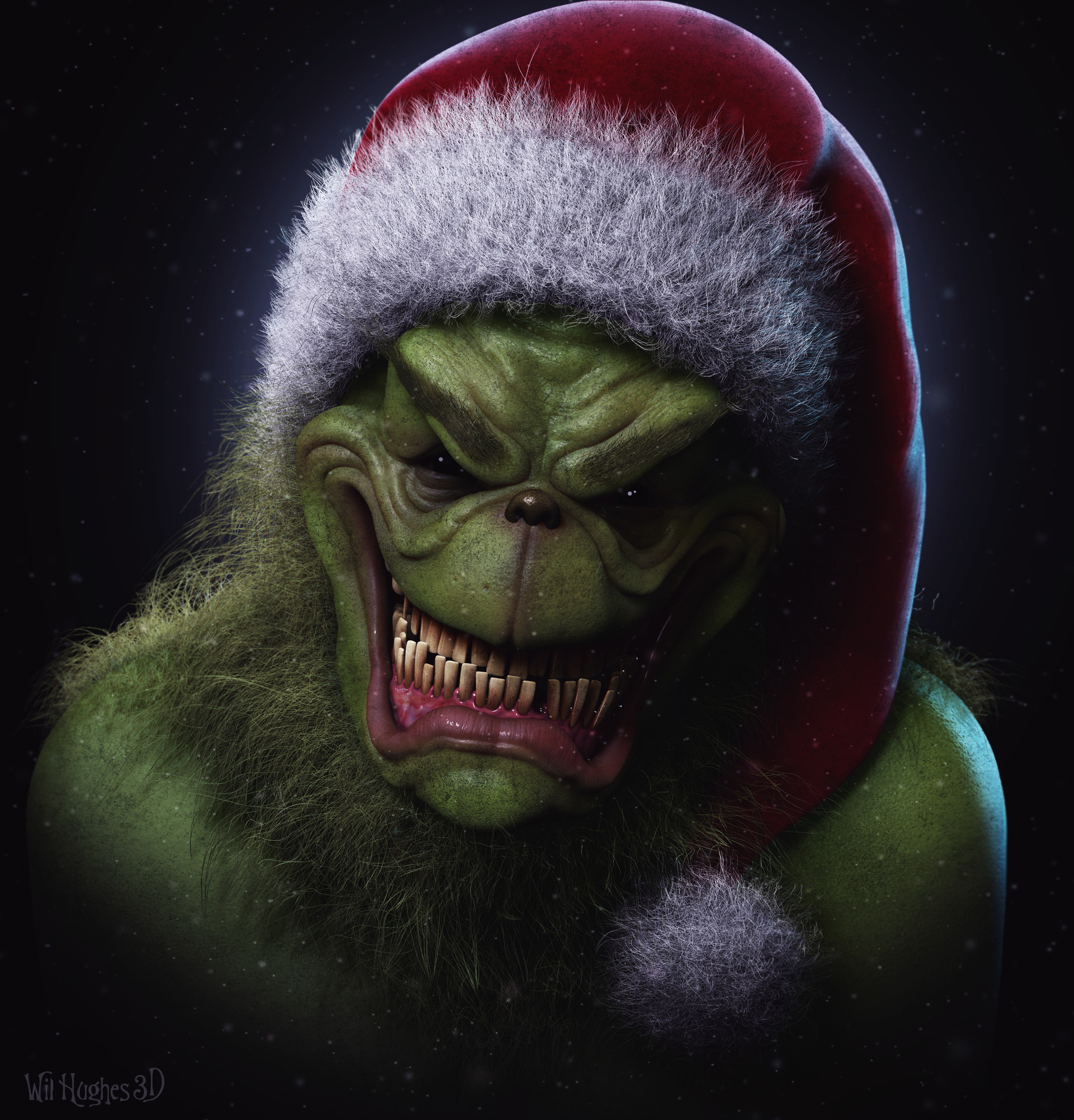 artstation the grinch wil hughes