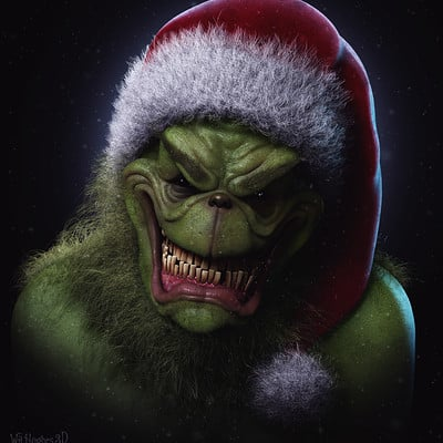 Wil hughes the grinch og