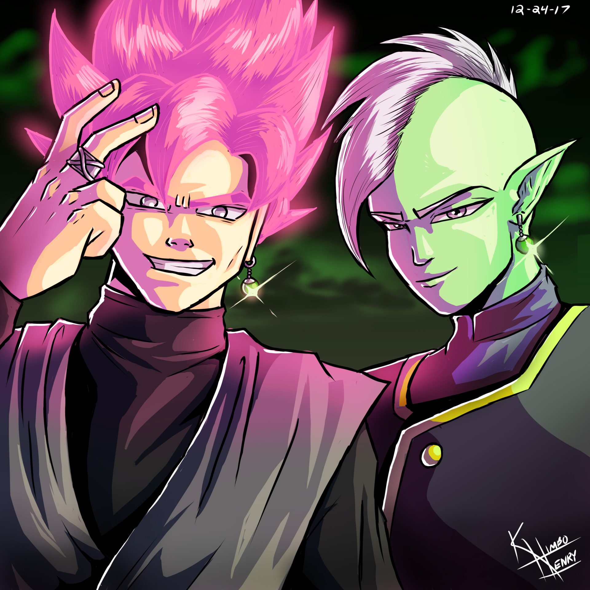Artstation - Goku Black  Zamasu, Kimbo Henry-4678