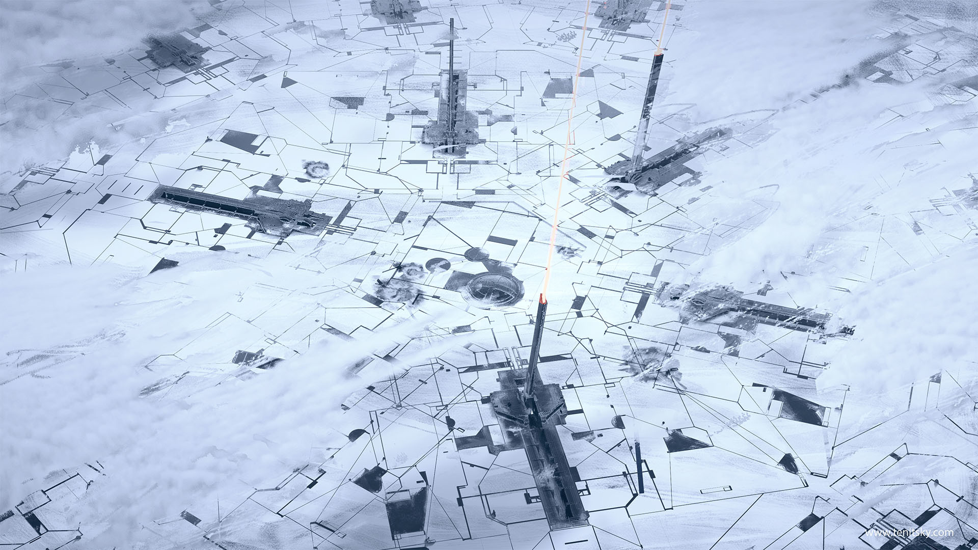 Anton t south pole defense array 001