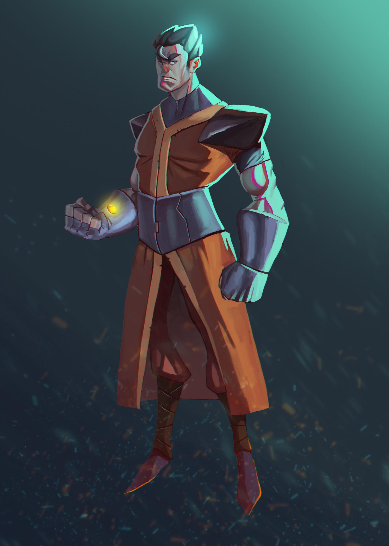 Juanda rico gohan character design