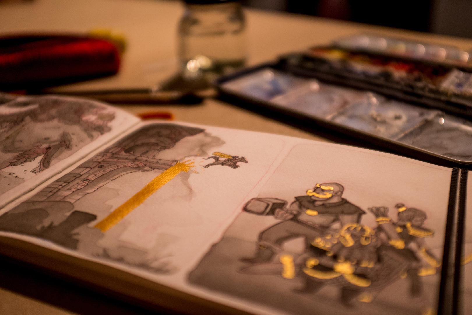 Vincent derozier vincent derozier drawings 24