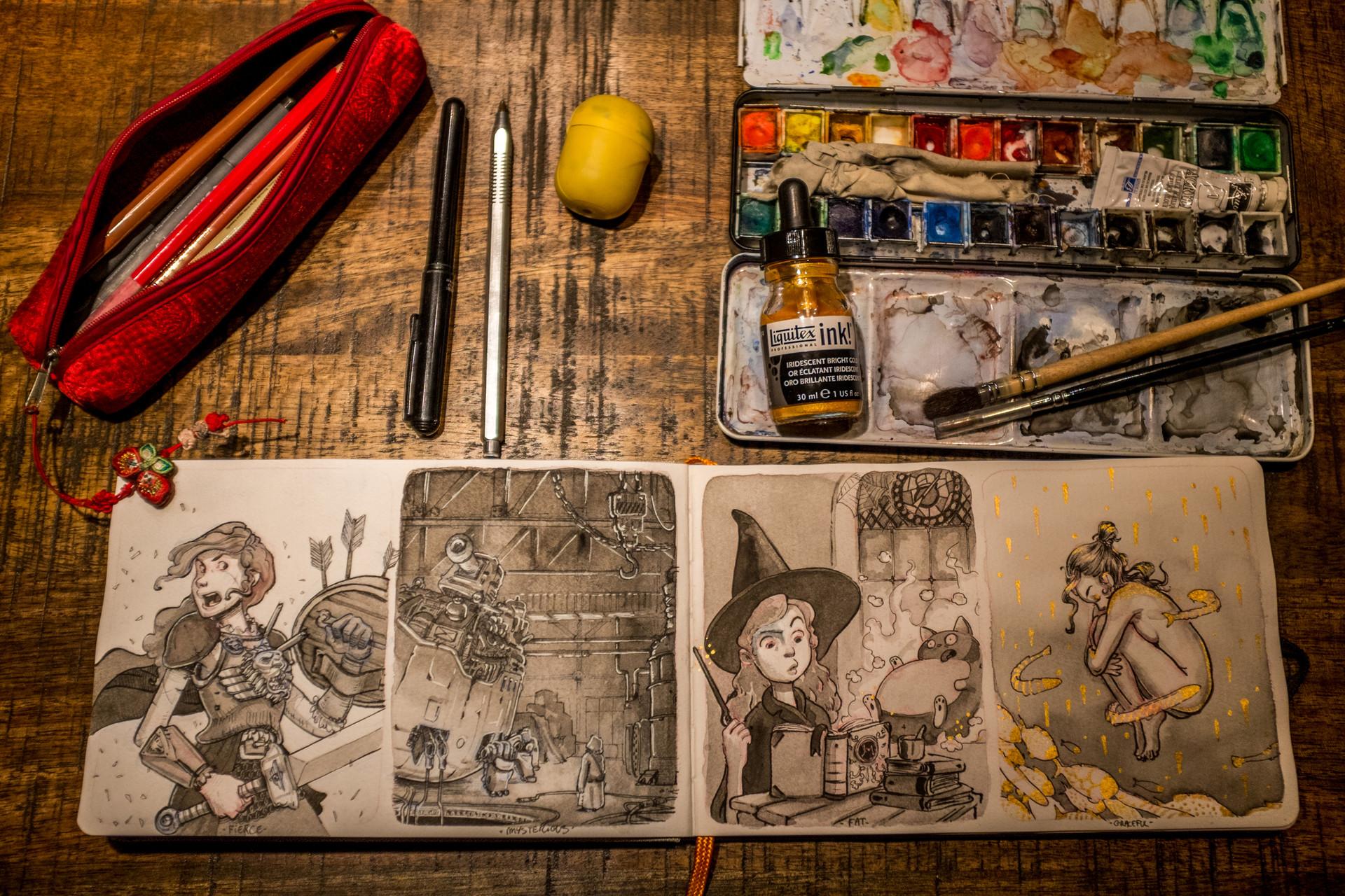 Vincent derozier vincent derozier drawings 16