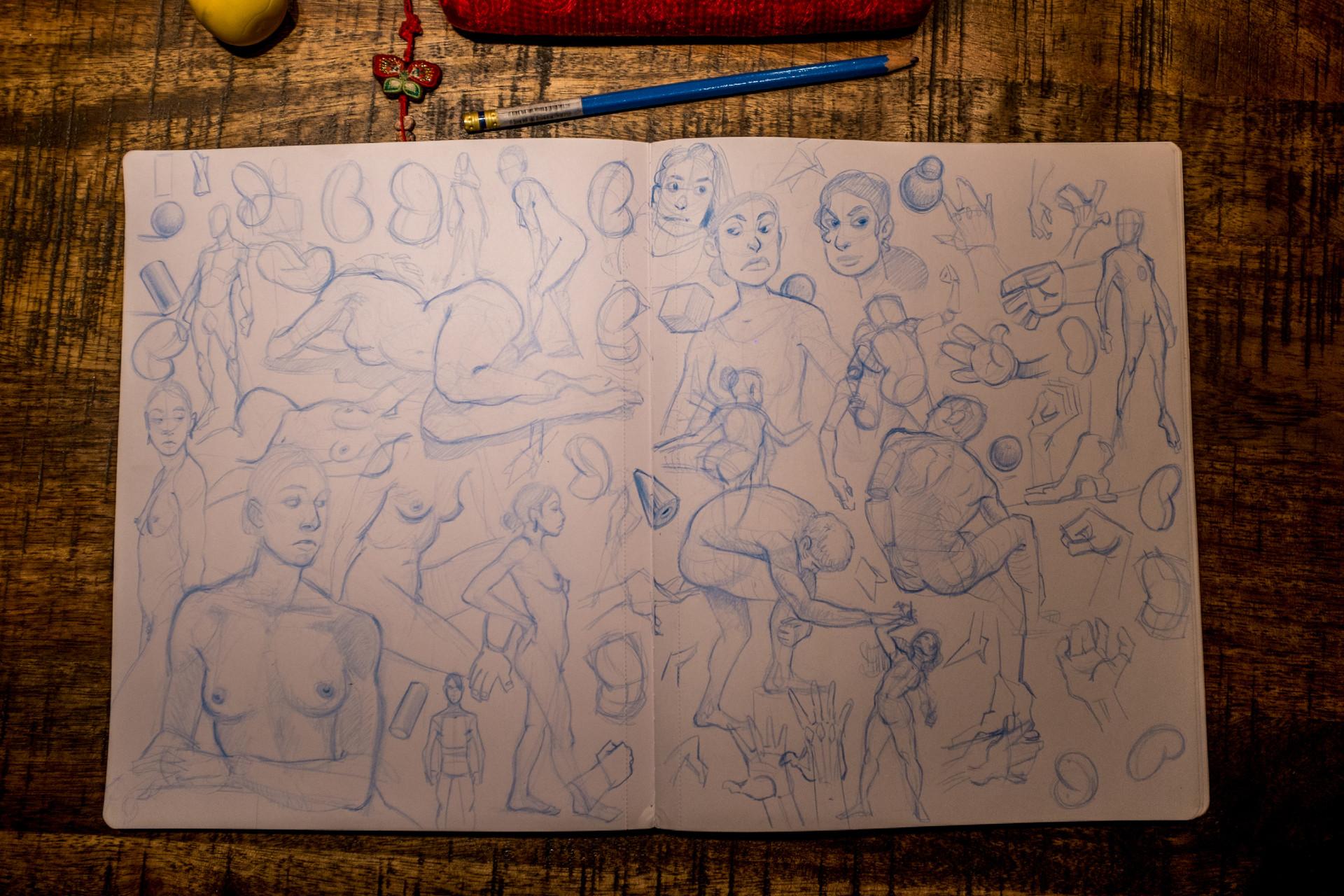 Vincent derozier vincent derozier drawings 7