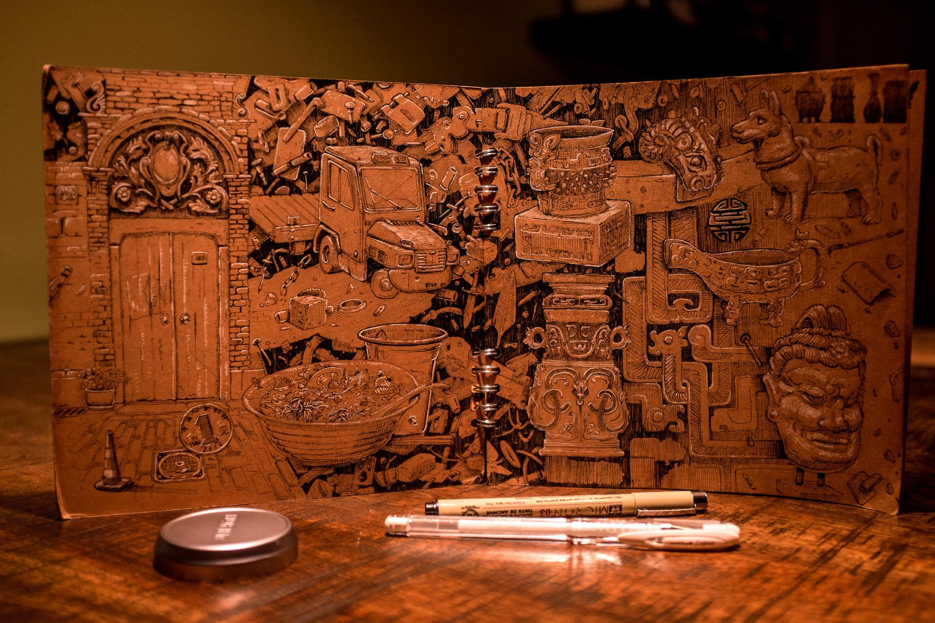 Vincent derozier vincent derozier drawings 1