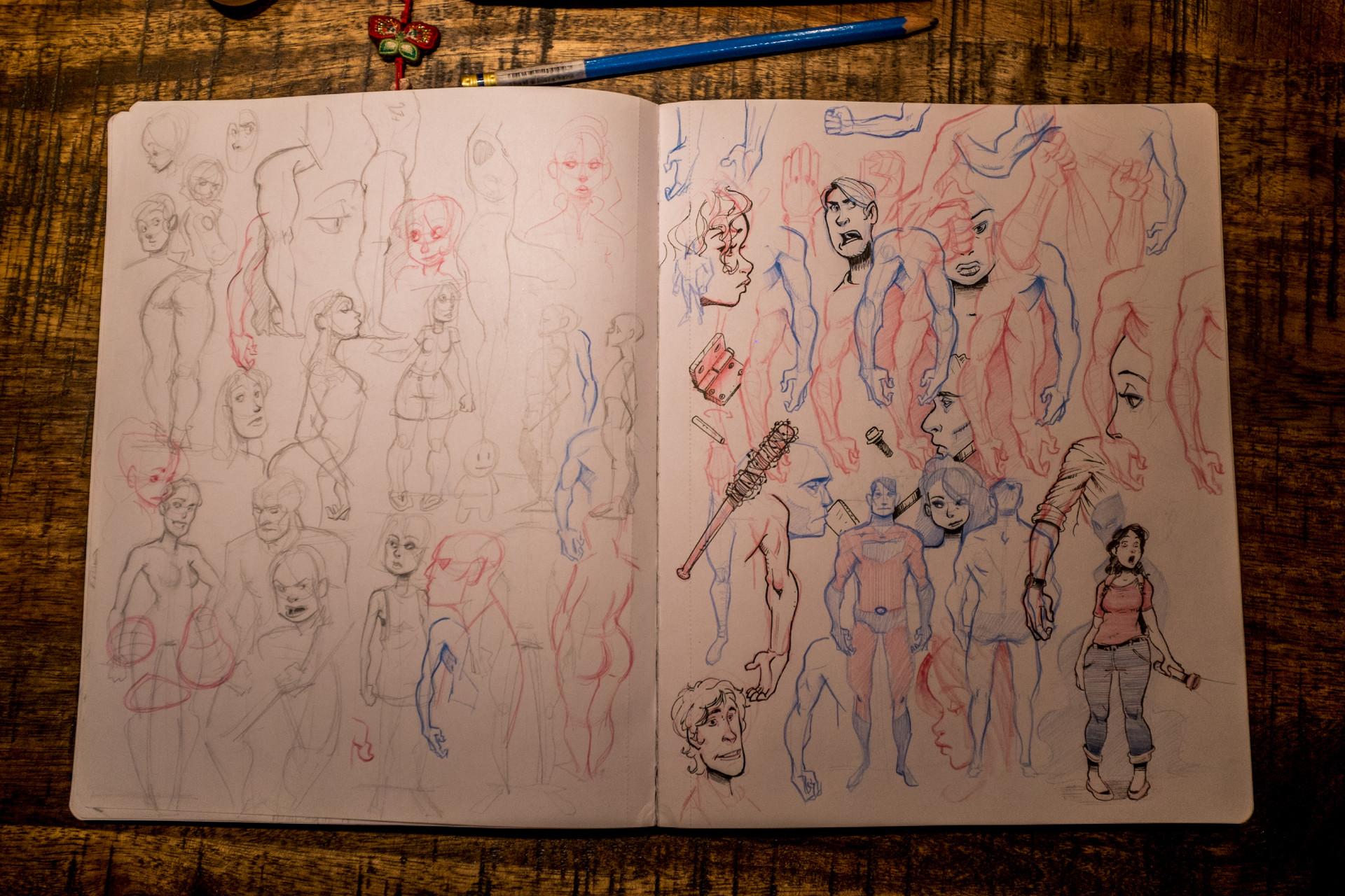 Vincent derozier vincent derozier drawings 8