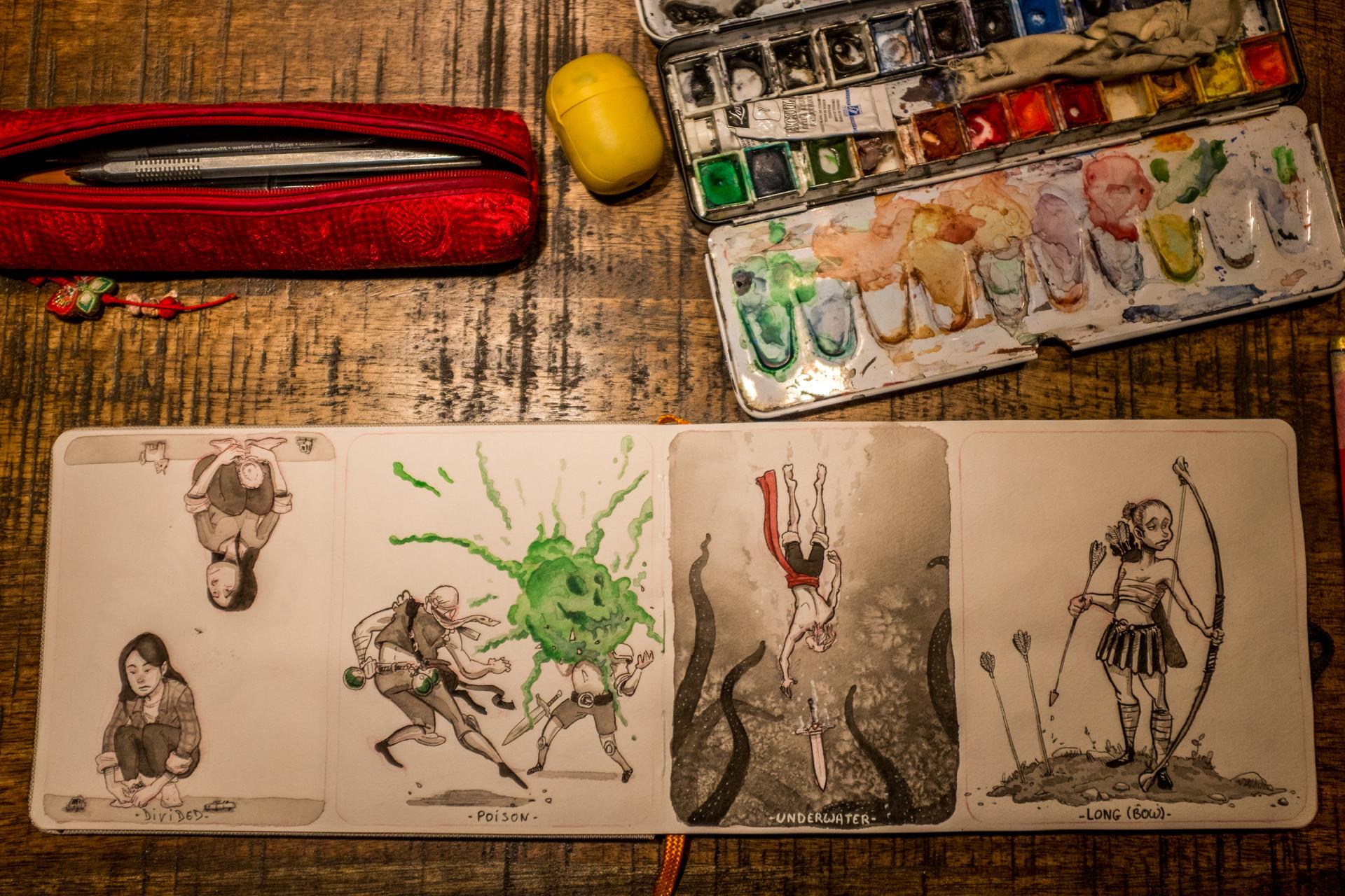 Vincent derozier vincent derozier drawings 13