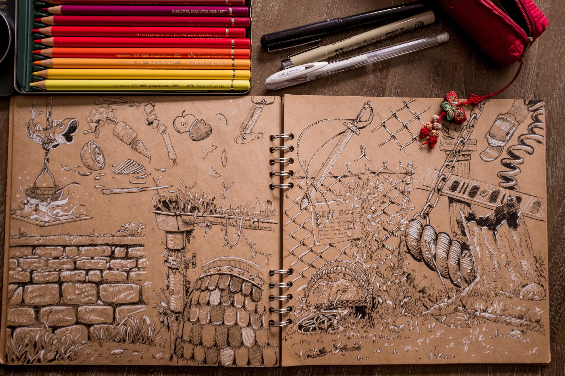 Vincent derozier vincent derozier drawings 4