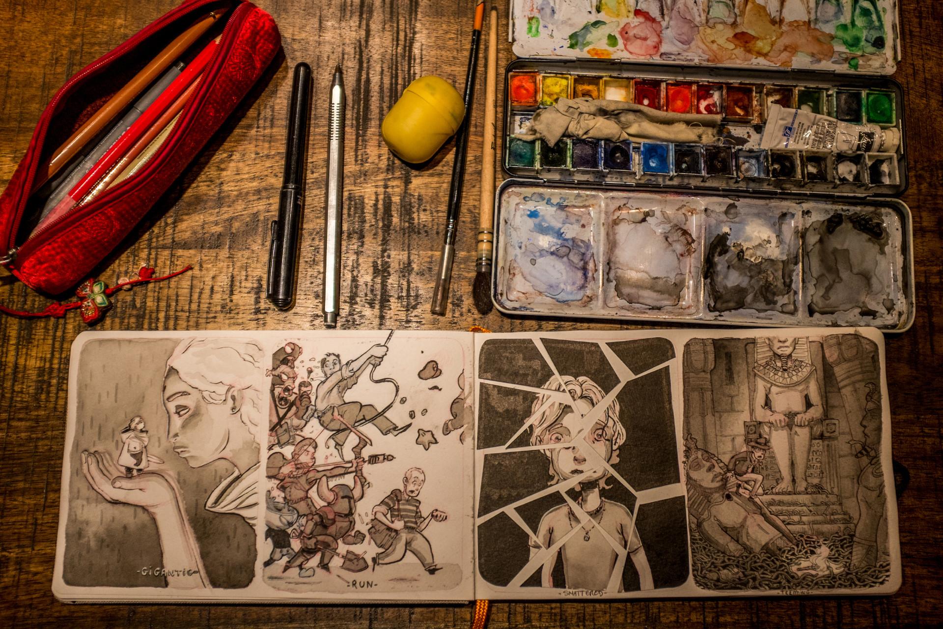 Vincent derozier vincent derozier drawings 15