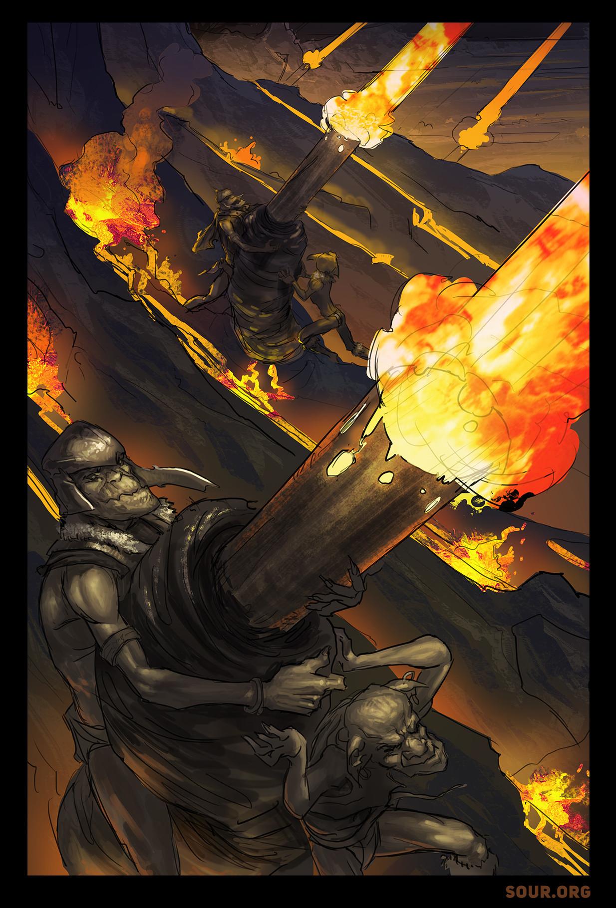 Josh godin josh godin orcish blasting cannons