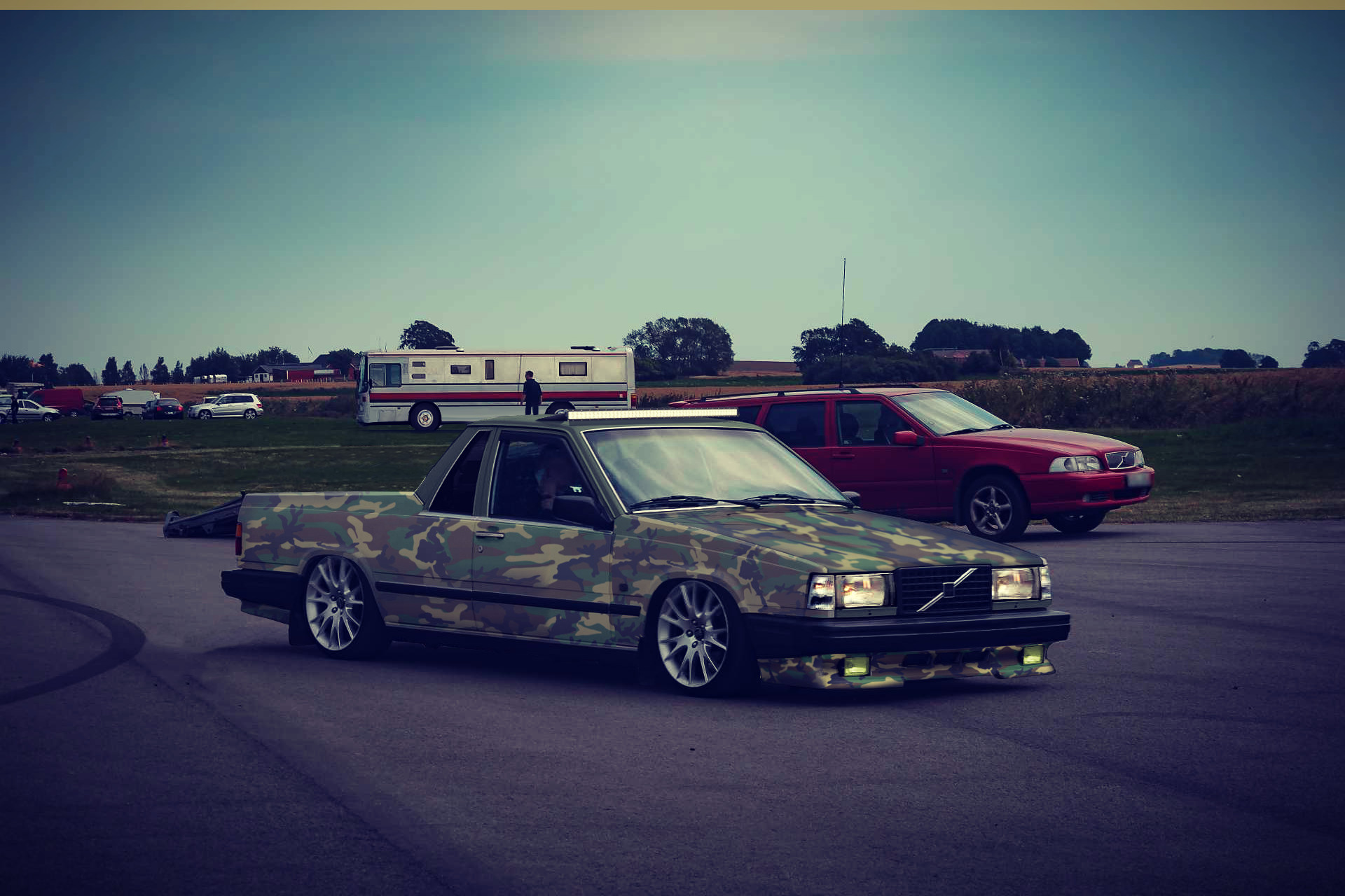 ArtStation - Cammo Volvo 744 // A-traktor //, L.C CUSTOMS