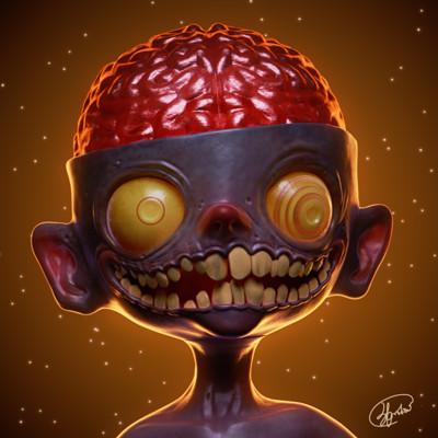 Chuks echezie okoro zombie boy2 signed
