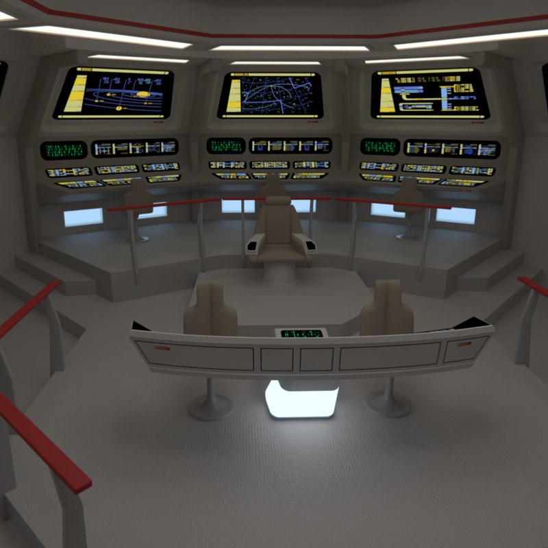 USS Chekov Bridge