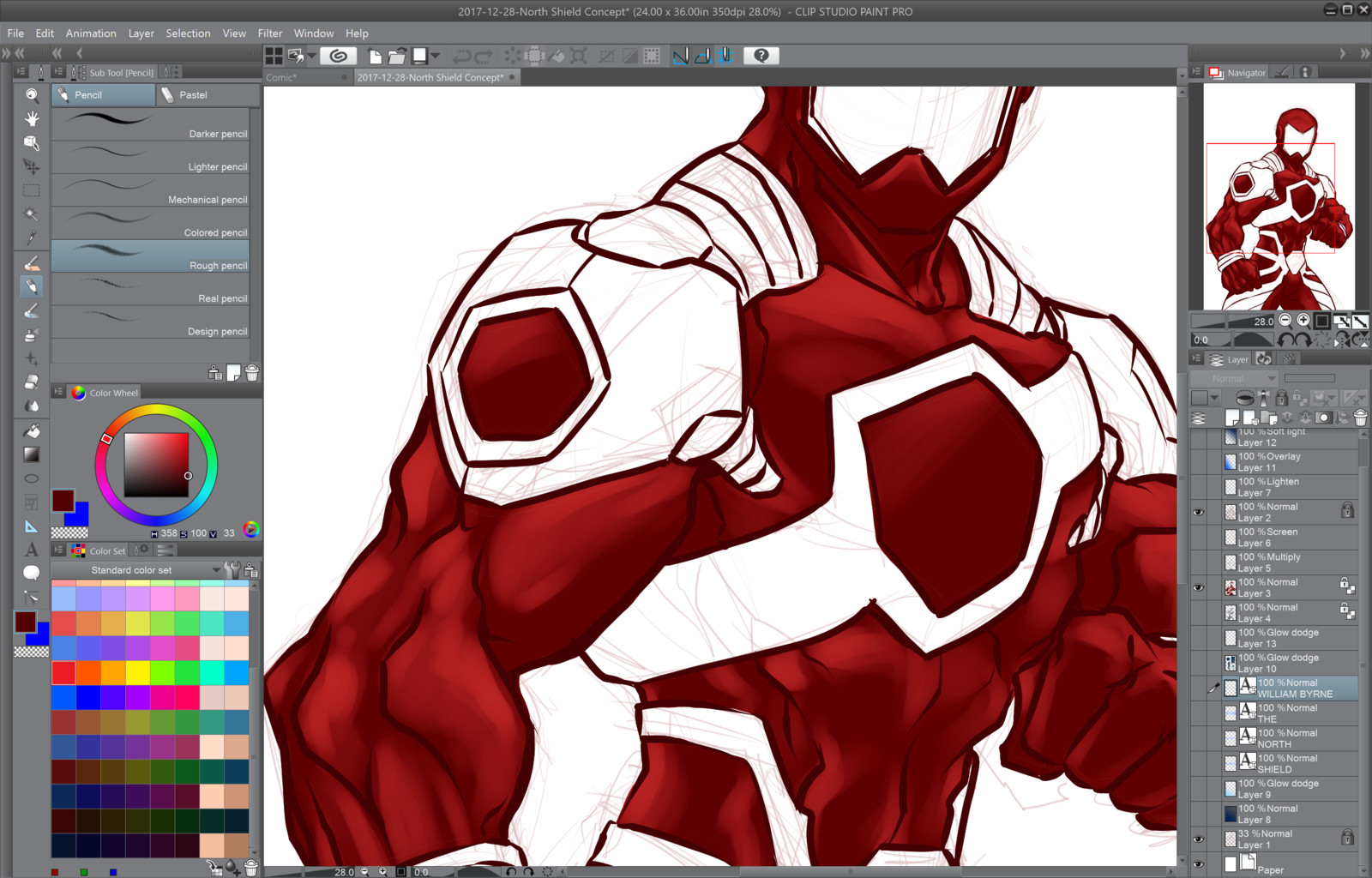 03- Painting the anatomy depth