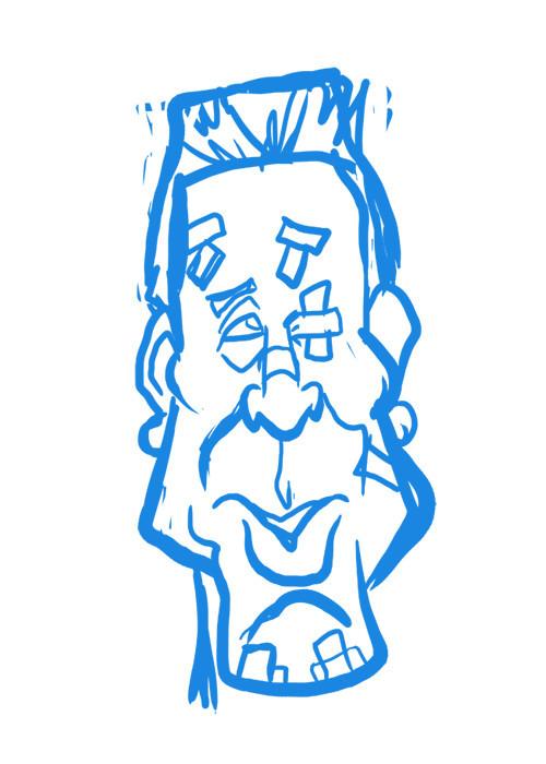 Marv from Sin City (sketch)