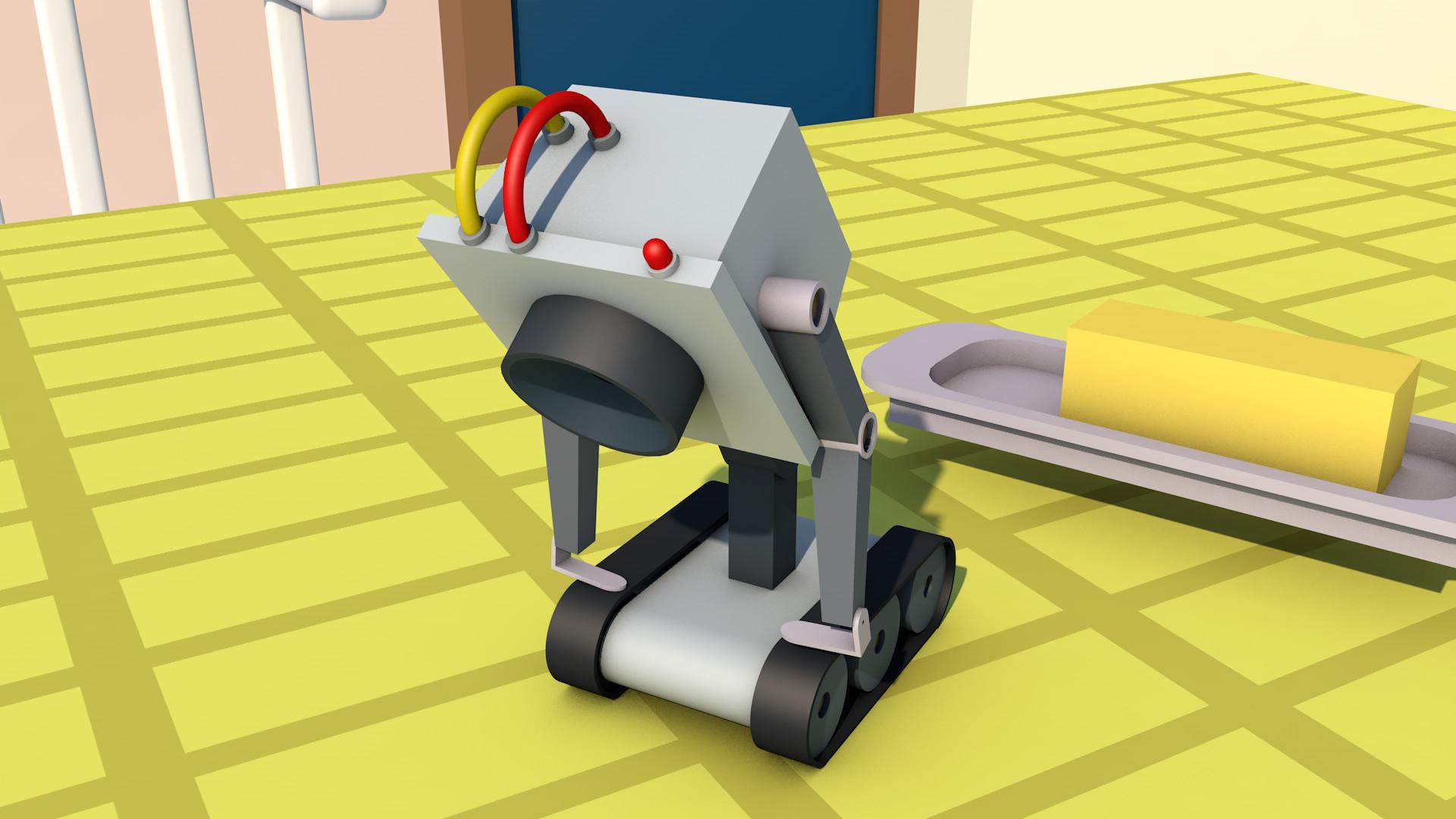 artstation rick and morty butter robot jaka lozar