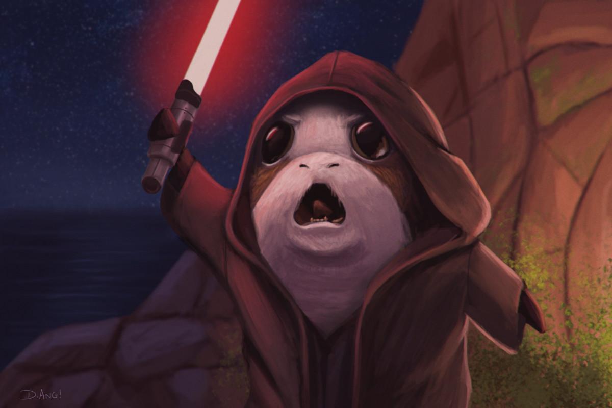 ArtStation - Star Wars Episode 9: Revenge of the Porgs