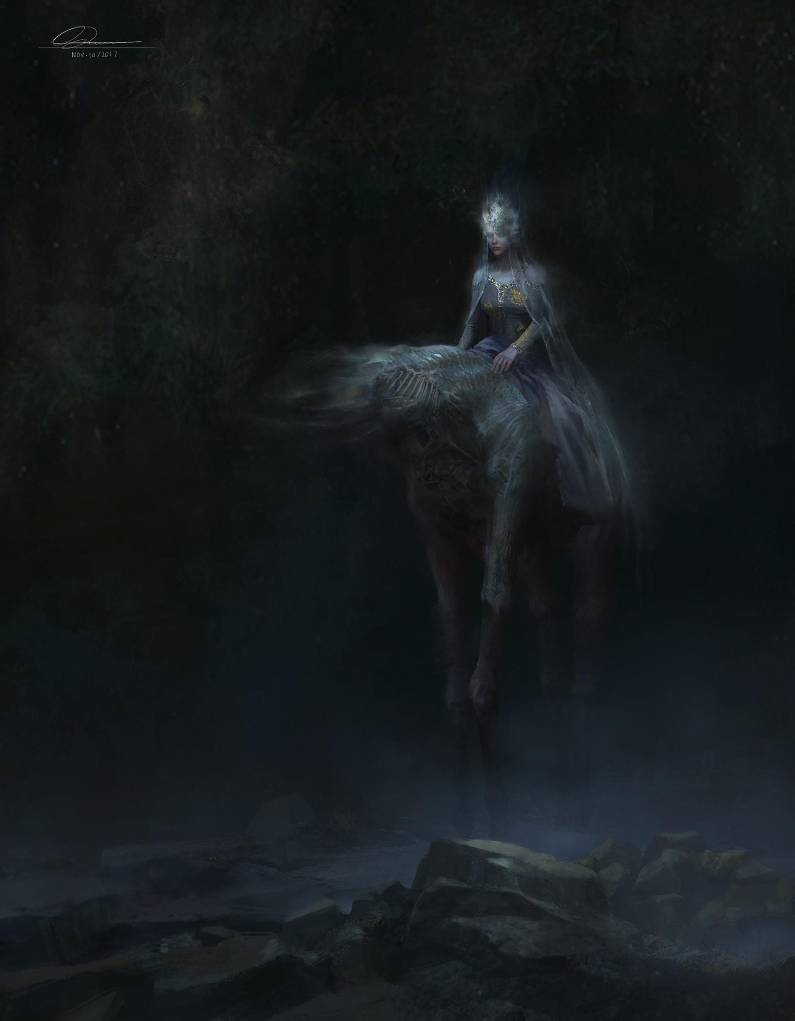 Rowena wang ghostdom