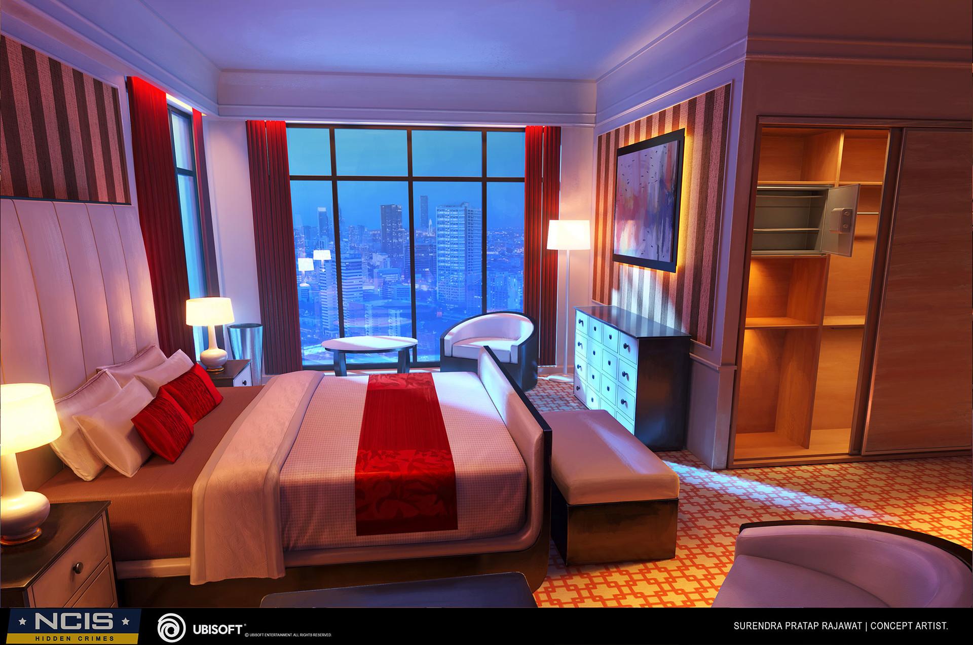 Surendra rajawat hotel room